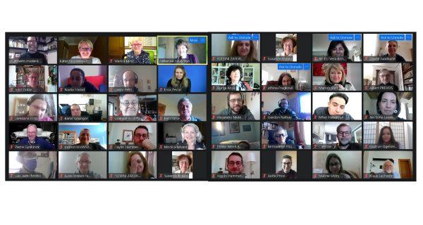 EDF Board Meeting online 8th March 2021