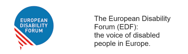 The European Disability Forum (EDF): the voice of disabled people in Europe.
